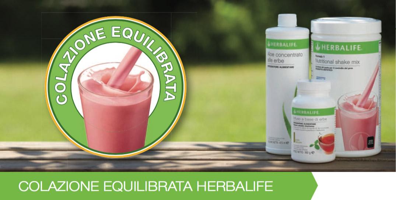 Colazione equilibrata Herbalife