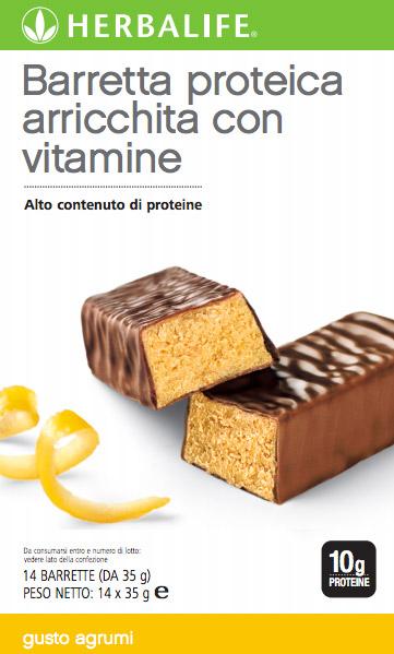 Barrette alle Proteine Agli Agrumi Herbalife