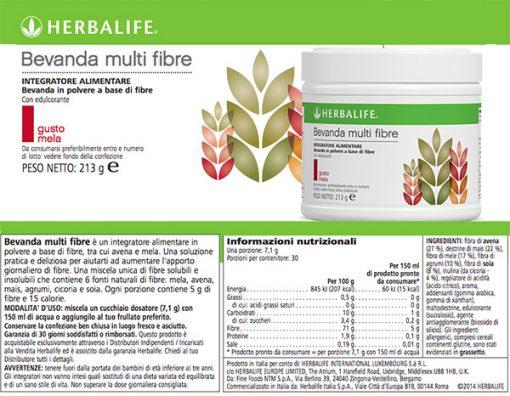 Bevanda Multi Fibre Herbalife