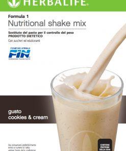 Herbalife Formula 1 Crema e Biscotto - Sostituto del Pasto