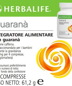 Guaranà Herbalife Compresse