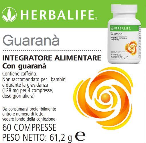 Guaranà Herbalife Compresse