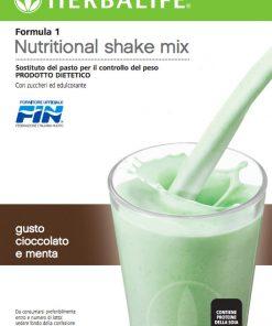 Herbalife Formula 1 Cioccolato e Menta - Sostituto del Pasto