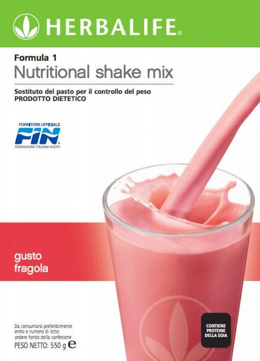 Herbalife Formula 1 Fragola - Sostituto del Pasto