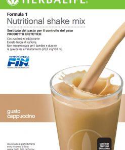 Herbalife Formula 1 Cappuccino - Sostituto del Pasto