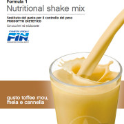 Herbalife Formula 1 Toffe Mou, Mela e Cannella - Sostituto del Pasto