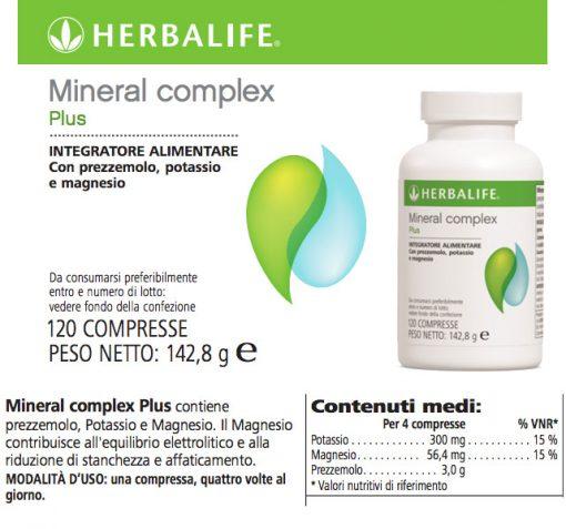 Mineral Complex Plus Integratore Vitamine Herbalife