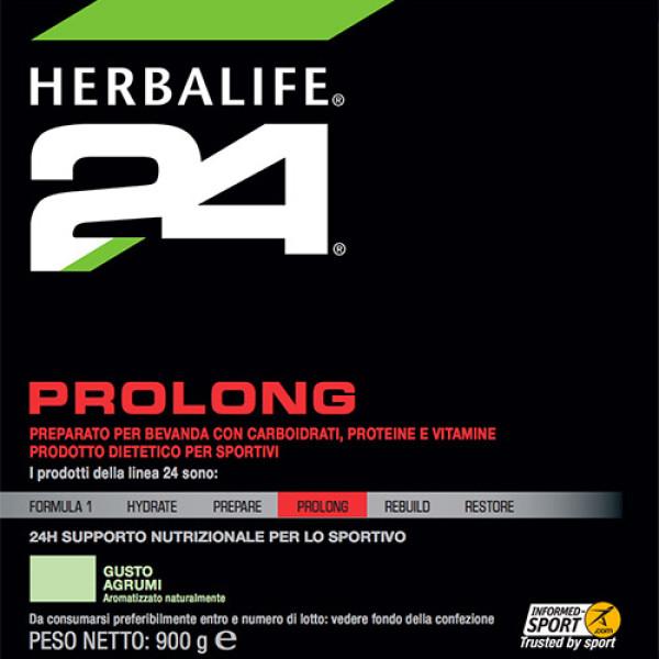 Etichetta Prolong Herbalife 24