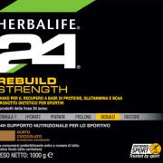 H24 Rebuild Strength Etichetta