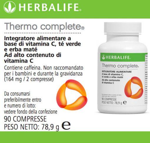 Thermo Complete® Integratore Alimentare a Base di Estratti Vegetali